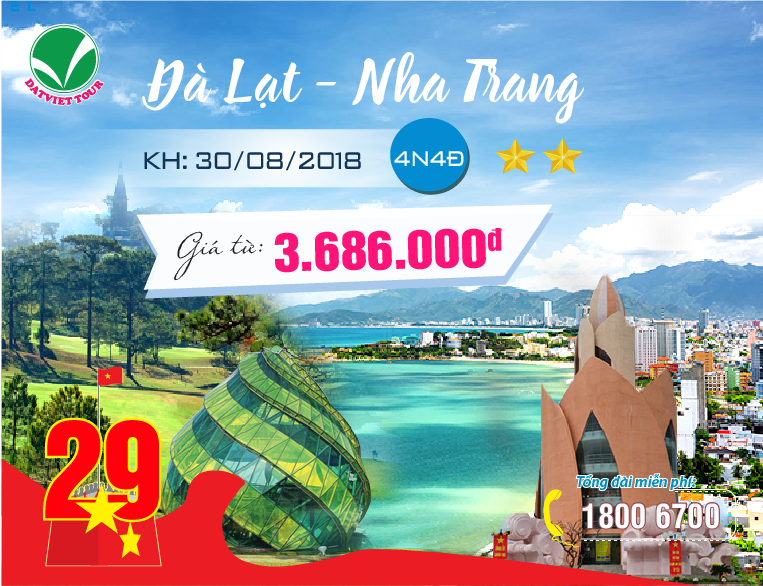 Tour Đà Lạt - Nha Trang